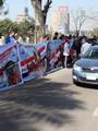 """مسيرة الرياضيين تصل لـ""""الأوبرا"""".. والهتاف """"الجيش والشعب إيد واحدة"""""""