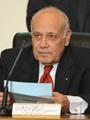 المستشار أيمن عباس رئيس اللجنة العليا للانتخابات