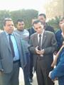 رئيس جامعة الأزهر: الطالب اللى هيحرق هطلع دماغه من جسمه وهحرق كبده