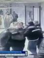 مشهد من الاعتداء رصدته كاميرات مستشفى المطرية