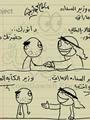 كاريكاتير عن كآبة المصريين