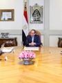 الرئيس السيسي مع وزير الإسكان