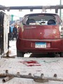 نشطاء يتداولون فيديو للإصابات الناتجة عن انفجار دار القضاء