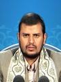 الحوثى يتصبب عرقاً ويحمل خنجراً: عاصفة الحزم غير مبررة