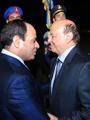 السيسى يستقبل الرئيس اليمنى عبد ربه منصور هادى بمطار شرم الشيخ