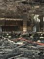 ننشر أولى صور حريق قاعة المؤتمرات بمدينة نصر من الداخل