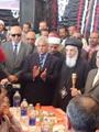 وضع حجر الأساس لكنيسة شهداء ليبيا بالمنيا