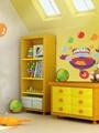 بالصور.. الشخصيات الكرتونية أهم عنصر لديكورات غرف الأطفال