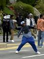 إعلان حالة الطوارئ بمدينة بالتيمور الأمريكية بعد شغب لمقتل شاب أسود