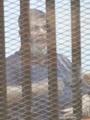 """مرسى يحرض أنصاره على التصعيد ويتوهم """"تضامن الكثيرين معه"""".. ويزعم: المحاكمات لن تطول ولم أتأثر من الحكم الصادر ضدى.. ويشن هجوما على القضاء.. ويدعى: سأصر على ما بدأته.. والمظاهرات هى الحل"""