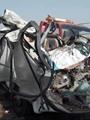 مصرع 3 طلاب وإصابة 16 آخرين فى تصادم سيارة نقل مع ميكروباص بكفر الدوار
