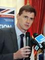 جون كاسن السفير البريطانى بالقاهرة،