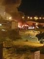 حريق يلتهم 5 أتوبيسات تابعة للمرفق الداخلى لمدينة الإسماعيلية