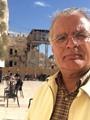 """الباحث المصرى ماجد فرج ينشر صوره بإسرائيل.. ويؤكد:""""أيوه أنا مع التطبيع"""""""