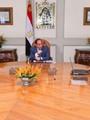 الرئيس السيسي وياسر القاضي وزير الاتصالات