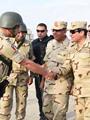 جانب من زيارة الرئيس السيسى إلى سيناء