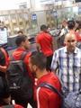 بالصور .. كواليس وصول الأهلى للمغرب قبل مواجهة الوداد فى دوري الأبطال