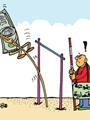 المجموعة الاقتصادية تعجز عن مواجهة قفزات الدولار بكاريكاتير اليوم السابع