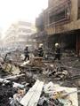 مقتل 6 أشخاص وإصابة 20 آخرين فى انفجار شمال غرب بغداد