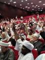 """""""العالمى لعلماء المسلمين""""يختار  القرضاوى رئيسا للاتحاد للمرة الرابعة"""