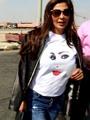 بالصور.. كواليس رحلة إليسا لسهل حشيش على متن طائرة مصر للطيران
