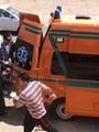 ارتفاع عدد ضحايا حادث تصادم طريق مطار سوهاج الدولى إلى 12 متوفى
