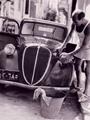 """تداول صورة نادرة لـ""""ستيفان روستى""""يغسل سيارته بـ""""فانلة حمالات وشورت"""""""