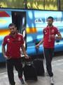 بالصور.. الأهلى يصل مطار القاهرة استعداداً لرحلة الكاميرون