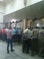 انحصار الطوابير أمام الشبابيك بعد تأكيد الصرافين عدم وجود أى تذاكر قبل العيد