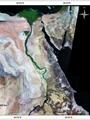 """بالخرائط.. مشروع بحثى لـ""""الاستشعار عن بعد"""" يكشف: """"كوم أمبو"""" كنز مصرى غير مستغل.. المنطقة تطفو على أنهار وبحيرات أقدم من نهر النيل طمرتها الرمال.. وأراضٍ صالحة للزراعة لاستكمال مشروع الـ10 ملايين فدان"""
