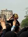 الأهالى يطاردون عناصر الإخوان عقب خروجهم فى مسيرة بالمحلة