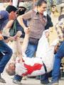 الشهيد اللواء نبيل فراج لحظة استشهاده