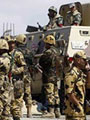 مقتل 3 عناصر إرهابية وإصابة 5 آخرين قرب الشريط الحدودى مع غزة