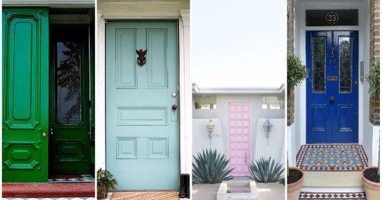 باب شقتك بأشكال جديدة.. 10 ألوان موضة اختارى منها لديكورات البيت - اليوم  السابع